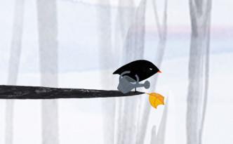 der-kleine-vogel-und-das-blatt