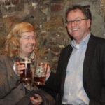 Birgit Strangmann (Bürgermeisterin, Ratsfraktion Die Grünen) und Thomas Klein (Ratsfraktion Die Grünen)_#ffos16 + Foto © www.kerstin-hehmann.de
