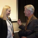 Bürgermeister Burkhard Jasper und Festivalleiterin Julia Scheck_#ffos16 31. Unabhängiges FilmFest Eröffnung