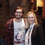 Festivalleiterin Julia Scheck und Regisseur Aron Lehmann_#ffos16 Foto © www.kerstin-hehmann.de
