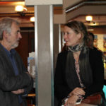 """Karl Maier (Film & Medienbüro Niedersachsen) und Produzentin Nicole Gerhards (""""Clash"""")_#ffos16_Foto © www.kerstin-hehmann.de"""