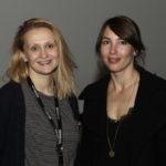 """Festivalleiterin Julia Scheck und Regisseurin Manuela Bastian (""""Where to, Miss?) #ffos16_Foto  © www.kerstin-hehmann.de"""