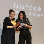 Festivalleiterin Julia Scheck und Moderatorin Kerstin Schuhmann #ffos16_Foto  © www.kerstin-hehmann.de